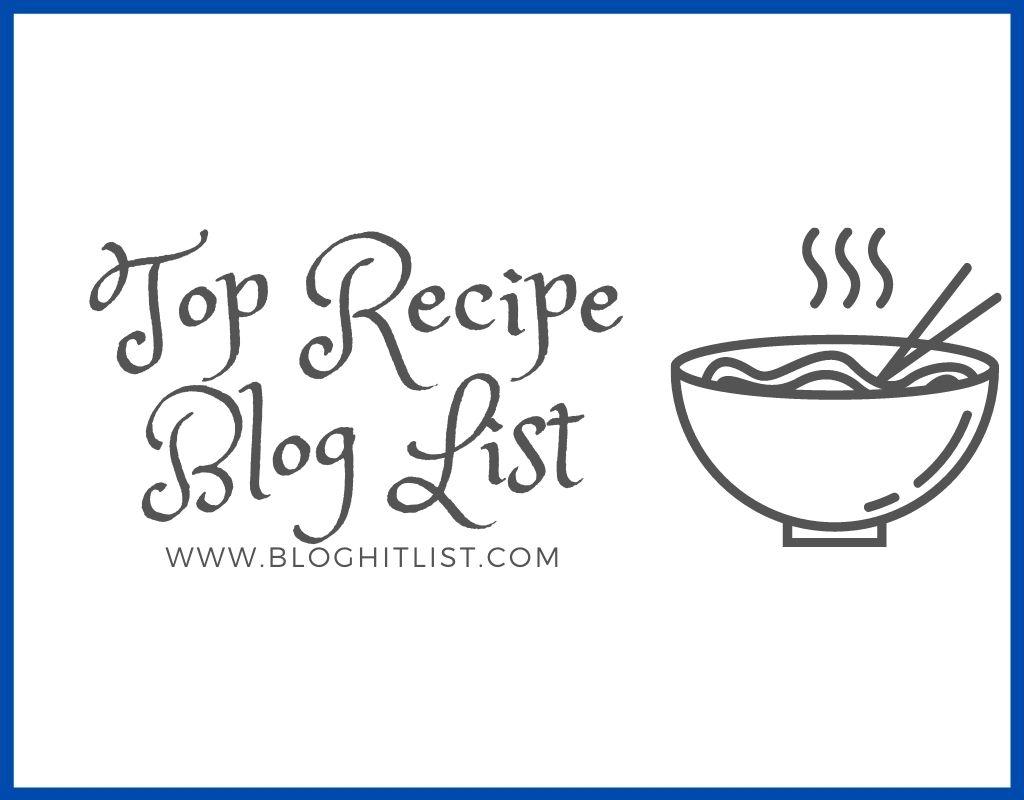 top recipe blog