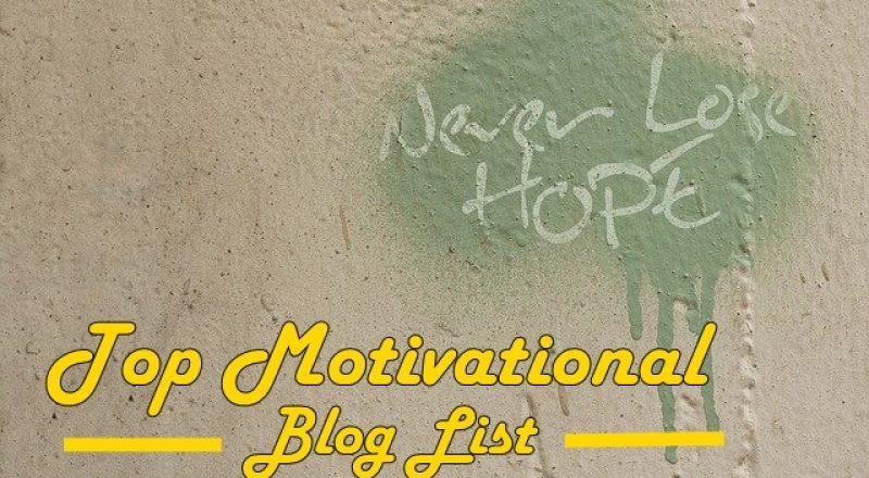 top motivational blog